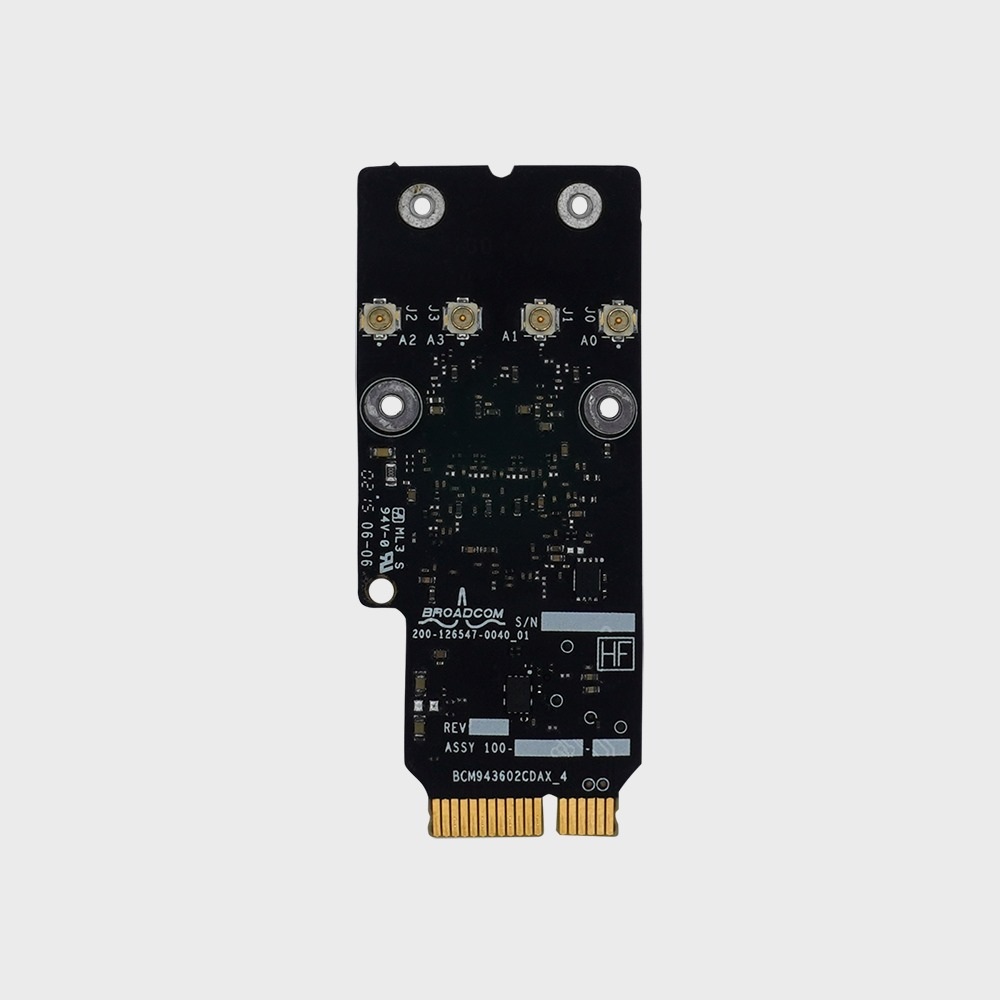 Apple Broadcom BCM943602CD 802 11 a/b/g/n/ac with Bluetooth 4 1 |  www osxwifi com | Native Support for Apple Broadcom BCM94360CD and  BCM94331CD for PC