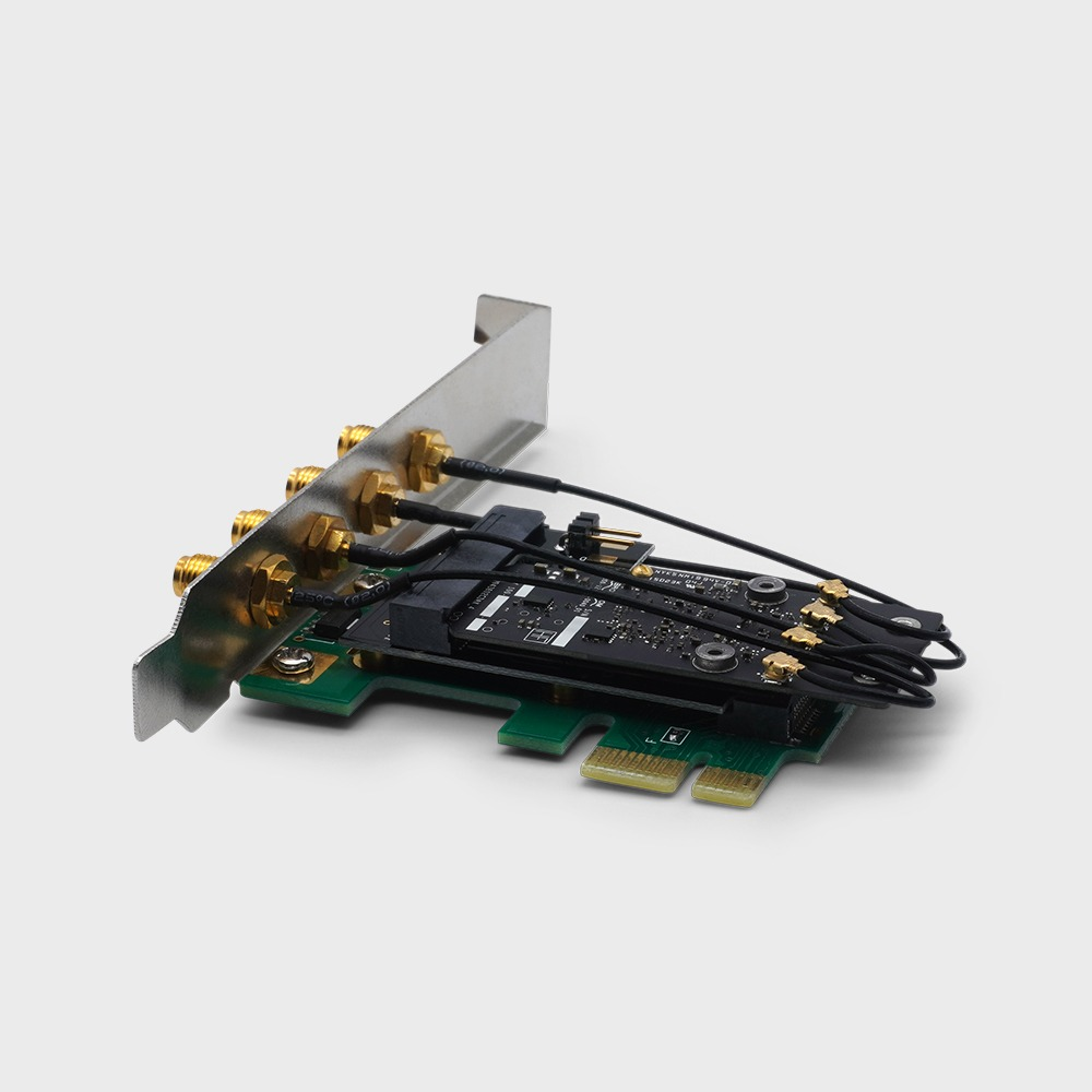 PC/Hackintosh - Apple Broadcom BCM943602CD - 802 11 a/b/g/n/ac with  Bluetooth 4 1 - Limited Edition | www osxwifi com | Native Support for  Apple