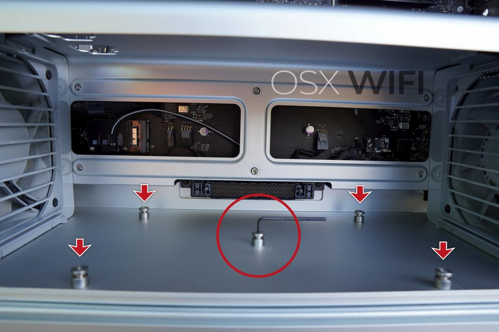 Mac Pro 5 screws osxwifi