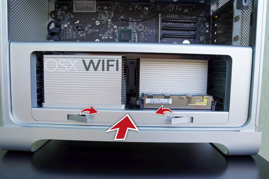 Mac Pro insert CPU tray osxwifi